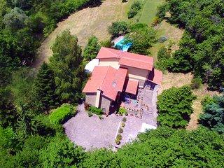 Toscana villa immersa nel verde