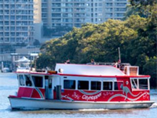 Free ferry to City, Botanic Gardens, Southbank, Cultural Centre and New Farm