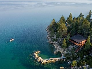 Stunning  Lakefront Estate with Private Dock and Pier! Fully Renovated 2019!
