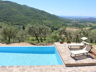 Fabulous Villa plus Studio in the heart of Tuscany with Infinity Pool and Views