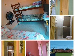 Suites privativas em Paraty