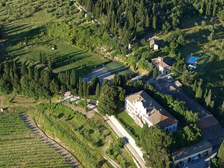 Villa Sonnino - Beautiful villa with private pool and tennis court, Chianti