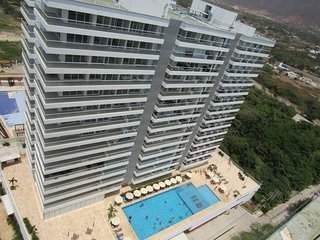 The best and exclusive apartment in santa marta sector wells colorados