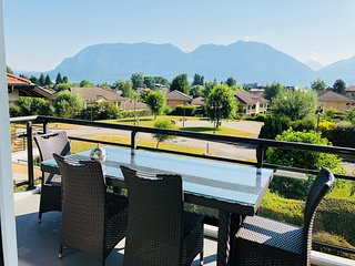 SEVRIER, Appartement VUE LAC, Terrasse , 5PERS.
