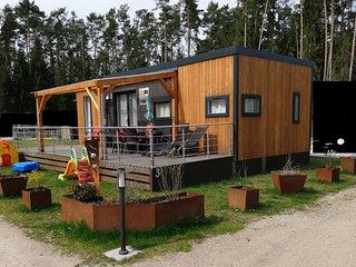 Luxus Ferienhaus Mobilheim Bungalow am Murner See (Bayern, Oberpfalz, Seenland)