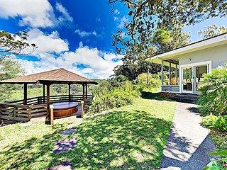 Gated Mountain Hideaway w/ Pool, Gazebo, Hot Tub, Screened Porch & Sunroom