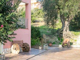 kouros apartments at a corner in alternate  Corfu