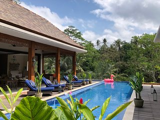 PURI KASIH GOTTLIEB A place to unwind in the midst of lush forest greens.