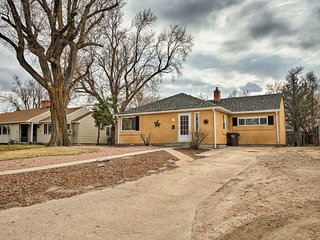NEW! Pueblo Home by Riverwalk, 2 Mi to Fairgrounds