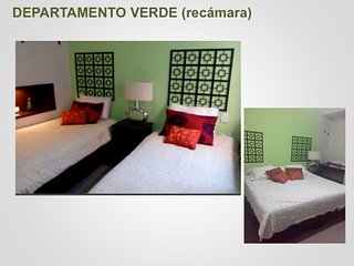 Agradable departamento en casa Antigua /Nice apartment in old house remodeled