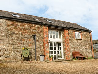 WEST BOWDEN FARM, barn conversion on a sheep farm, all bedrooms with TVs and