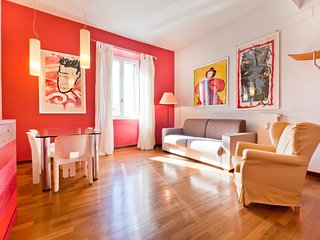 Lively, bright and welcoming  two bedroom flat (Trastevere)