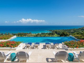 SPECTACULAR VIEWS! POOL! CHEF! BUTLER! GOLF! TENNIS! BEACH!Hummingbird House 7BR