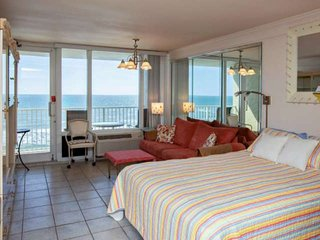 Newly Listed! Budget Friendly OceanFront 7th Floor Condo, Close to Pier & Dining