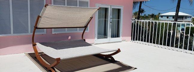 2nd floor rooftop patio