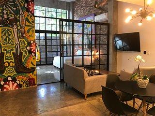 Lofts On Basilio : In the Romantic Zone : 2 Bedroom Loft  BRAND NEW BUILDING 202