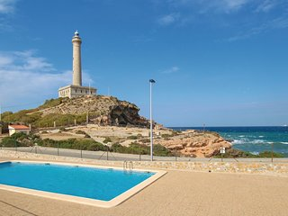 Awesome home in Cabo de Palos w/ Outdoor swimming pool, WiFi and 3 Bedrooms
