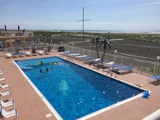 NEW listing Beach Oceach Front~Heated Pool~3 units with 3 full bath sleep 10
