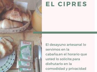 Cabaña El Cipres 1 - Jardin America -Argentina