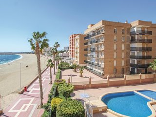 Beautiful apartment in Aguilas w/ Outdoor swimming pool, WiFi and Outdoor swimm