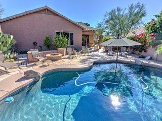 McDowell Mountain Ranch Villa w/ Heated Pool, Fire Pit & BBQ - Sleeps 10!