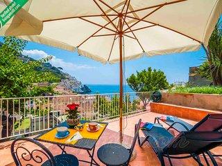 LivingAmalfi: Floria House, Amalfi centre, wifi, AC, stunning sea view!