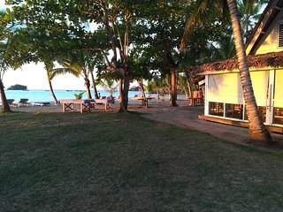 Have a relaxing vacation right on the beach enjoying the locations amenities