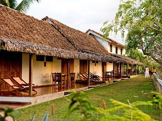 The wonderful hotel Belvedere 'la Villa', is located north-west of Nosy be