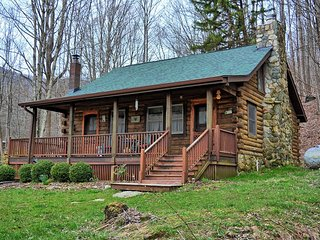 Stony Brook Cabin-2 Bedroom Cabin in GREAT Location. Minutes to Valle Crucis ame