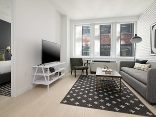Sonder | Wall Street | Relaxed 1BR + Kitchen