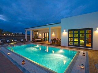 Magnificas villas de Lujos para tus Vacaciones en Lanzarote