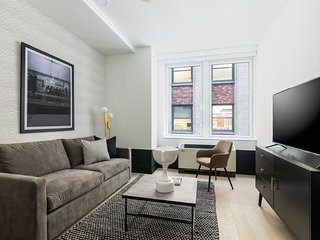 Sonder | Wall Street | Brilliant 1BR + Kitchen