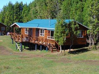Cabanas Encantos del Sur en Queilen, Chiloe