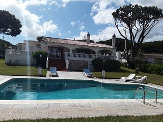 Casa Lima, large rustic villa, set in spacious garden, private pool, sleeps 12+