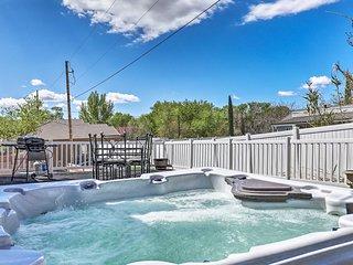 St. George Area Home w/ Hot Tub near Zion!