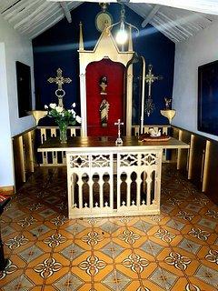 Interior capilla 'dos anxeles'