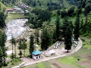 River View Camp in Barot