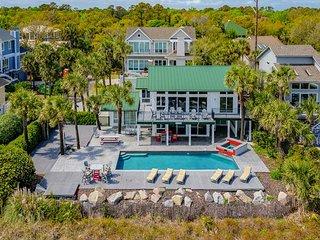 9 Driftwood-Oceanfront  w/  Large 15 x 34 Pool & Fido Friendly