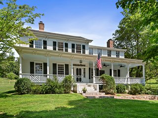 Newly Renovated Antique Estate with Pool & Tennis on 14+ Acres