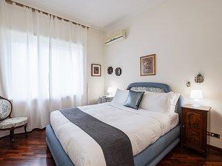Lovely 2 bed flat w/Balconies near Villa Pamphili