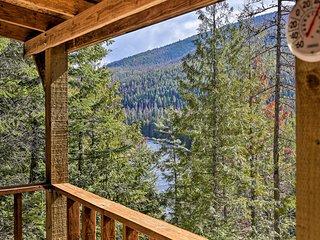 Yaak River Hideaway' - Private Cabin w/Views