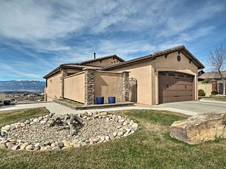 NEW! Colorado Springs Home w/Game Room & Mtn Views