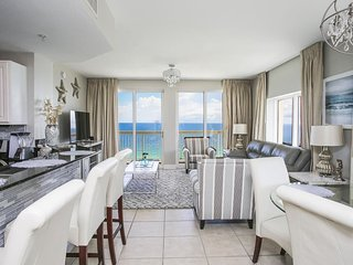 Calypso Beach Resort Rental 1709W | Walk to Pier Park | Beachfront Condo