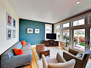 New Listing! Updated 1920s Home w/ Private Yard & Views of Puget Sound