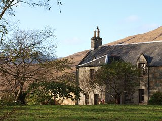 The Library at Strathaird House, set in stunning grounds!