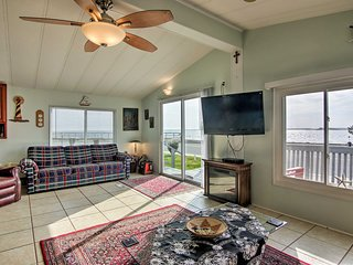 Ocean City Family Home w/ Deck & Bay Views!