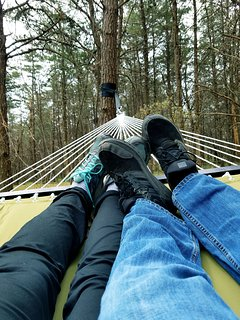 Relax on the hammock