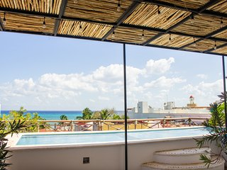 Ocean View Penthouse 3 BDR steps to the beach, the 5th av & the best nightlife
