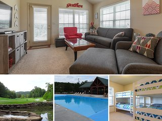 Minutes from SDC! Family friendly condo with bunk beds, pools, playgrounds, etc!