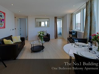 Gunwharf Quays Apartments One Bedroom Apartment with Balcony 1